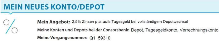 Consorsbank Postident