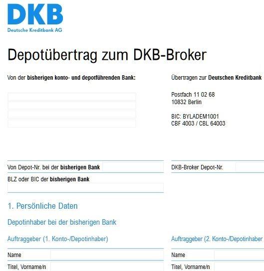 Dkb We Have A Stream: DKB Depotübertrag: Was Sollte Man Beim Depotwechsel Beachten?
