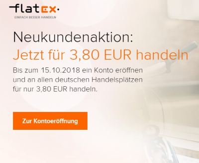Flatex Neukunden Aktion